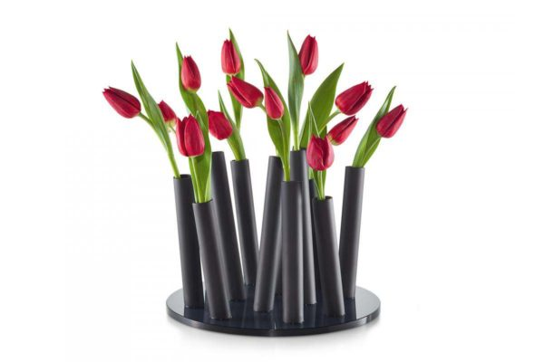 Philippi BOUQUET BLACK Vase
