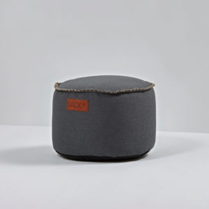 SACKit Hocker Canvas Drum Dark Petrol