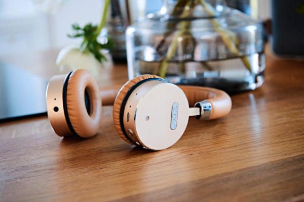 SACKit WOOFit Headphones Golden Kopfhörer